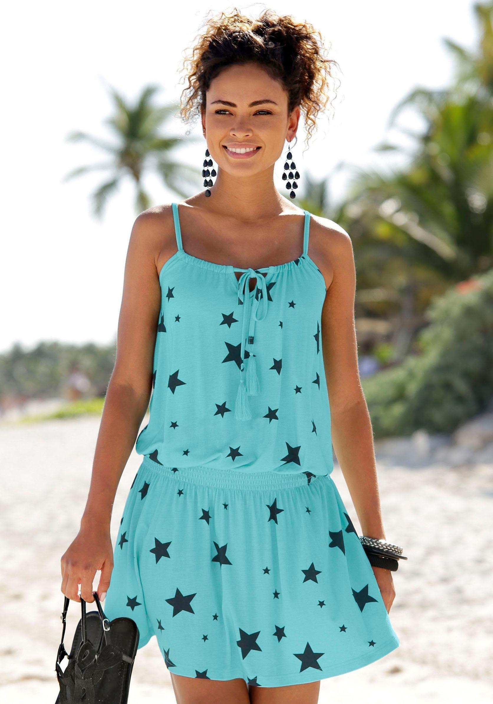 Beachtime Zomerjurk met sterrenprint in de webshop van Lascana kopen