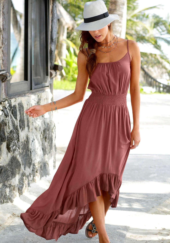 Op zoek naar een Lascana maxi-jurk in model dat voor kort en achter lang is? Koop online bij Lascana