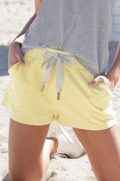 elbsand sweatshort »melros« geel