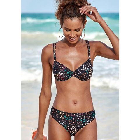 s.Oliver RED LABEL Beachwear bikinitop met beugels Milly met kleine ringen op het bandje