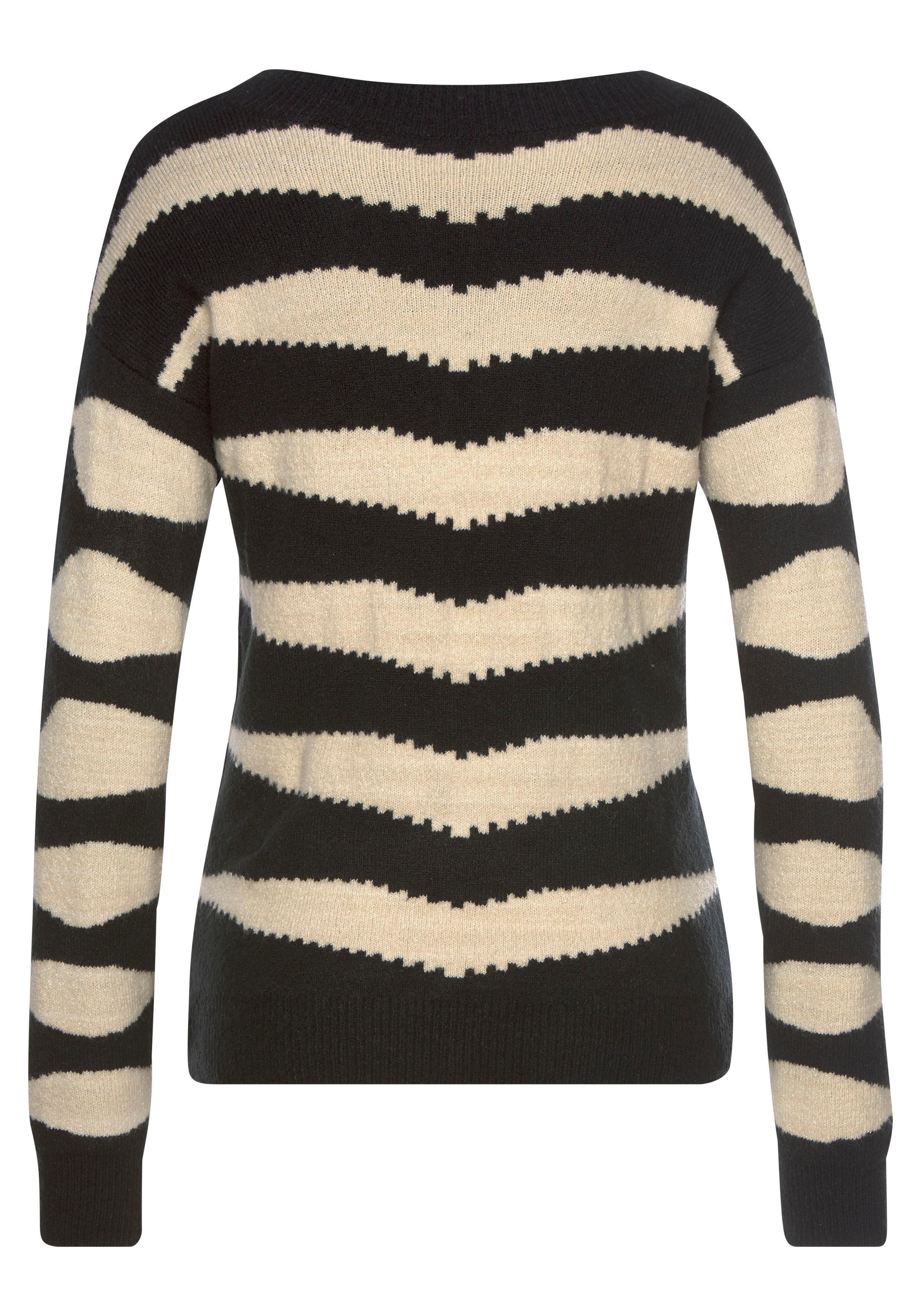 LASCANA trui met ronde hals goedkoop op lascana.nl kopen