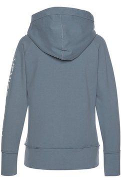 venice beach capuchonsweatvest »broucy jacket« blauw