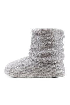 lascana pantoffels grijs