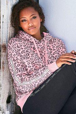 kangaroos hoodie roze
