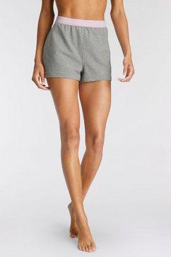 calvin klein pyjamashort grijs