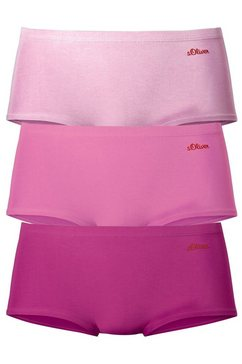 pants, s.oliver, set van 3 roze