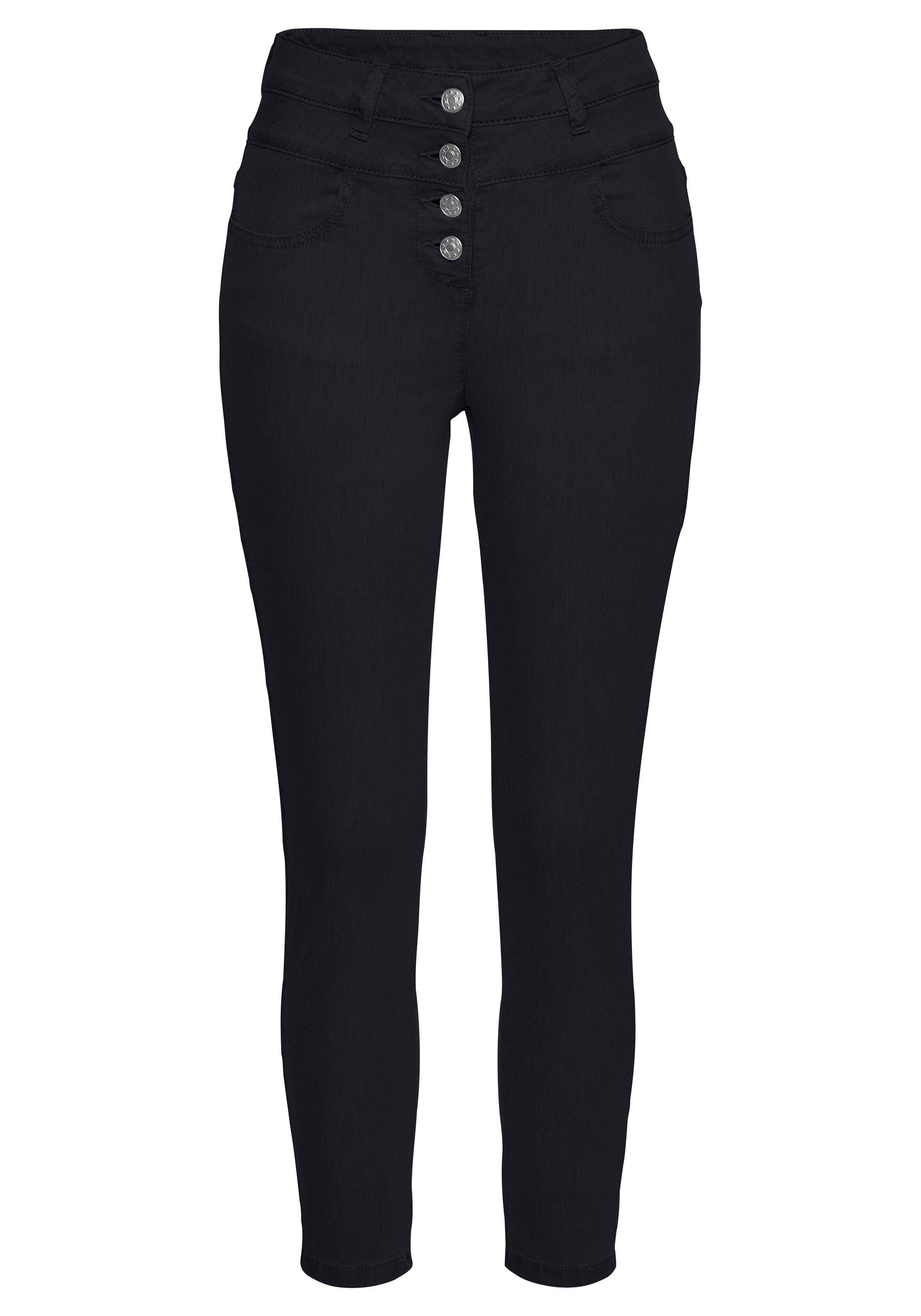 Lascana high-waist jeans van superstretch-kwaliteit bestellen: 30 dagen bedenktijd