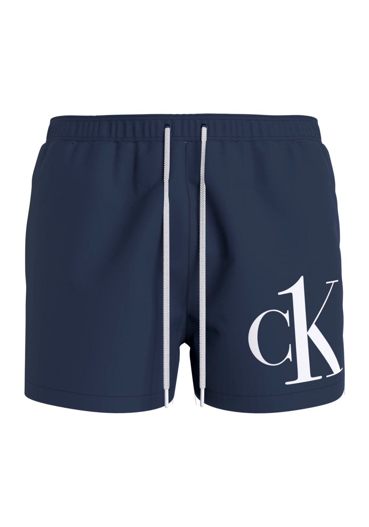 Calvin Klein Zwemshort met ck opschrift op het been online kopen op lascana.nl