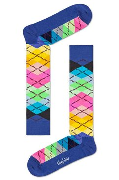 happy socks kniekousen »argyle« multicolor