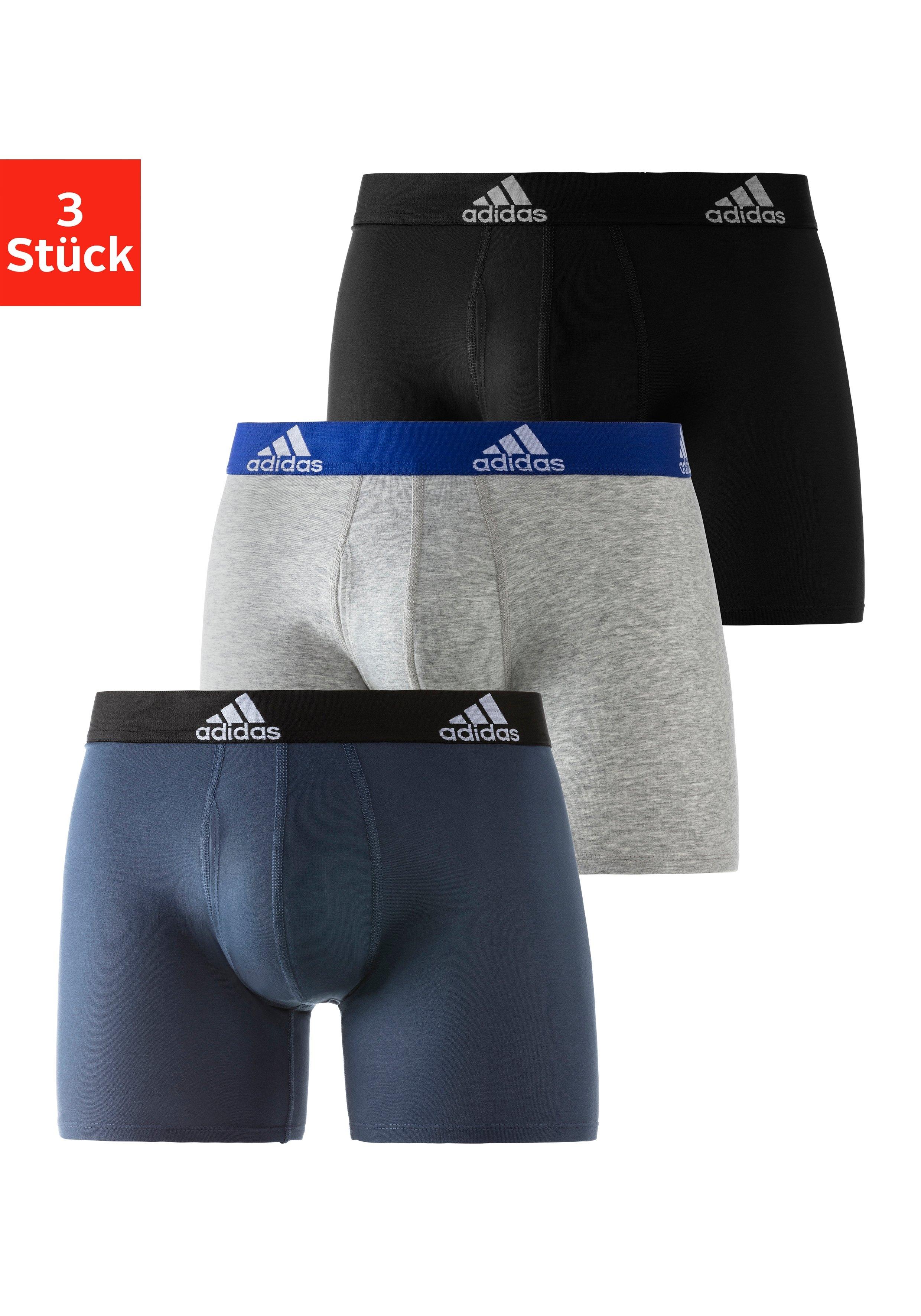 adidas Originals Boxershort Logo-weefband (3 stuks) nu online bestellen