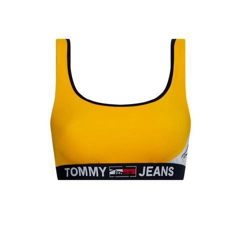 Tommy Hilfiger bustierbikinitop met elastische band onder de borst
