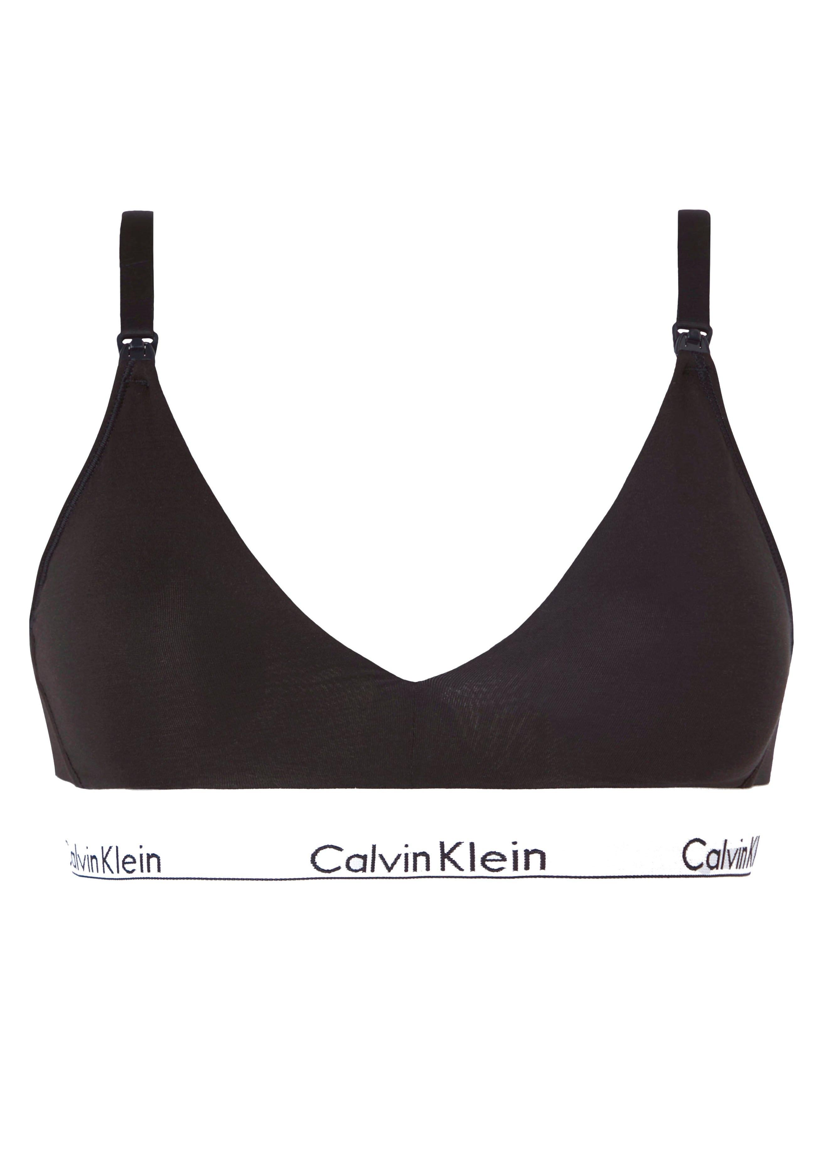 Calvin Klein voedings-bh met logo onderbusteband bestellen: 30 dagen bedenktijd