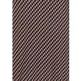 vivance shirt met 3-4-mouwen met kleine opening en goudkleurige sierknoop bij de hals zwart