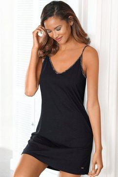 s.oliver bodywear negligé zwart