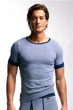 onderhemd, clipper, 'exclusive', set van 2 blauw
