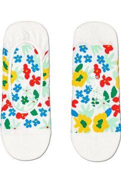 happy socks kousenvoetjes flower multicolour gebloemd multicolor