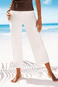 beachtime 7-8-strandbroek wit