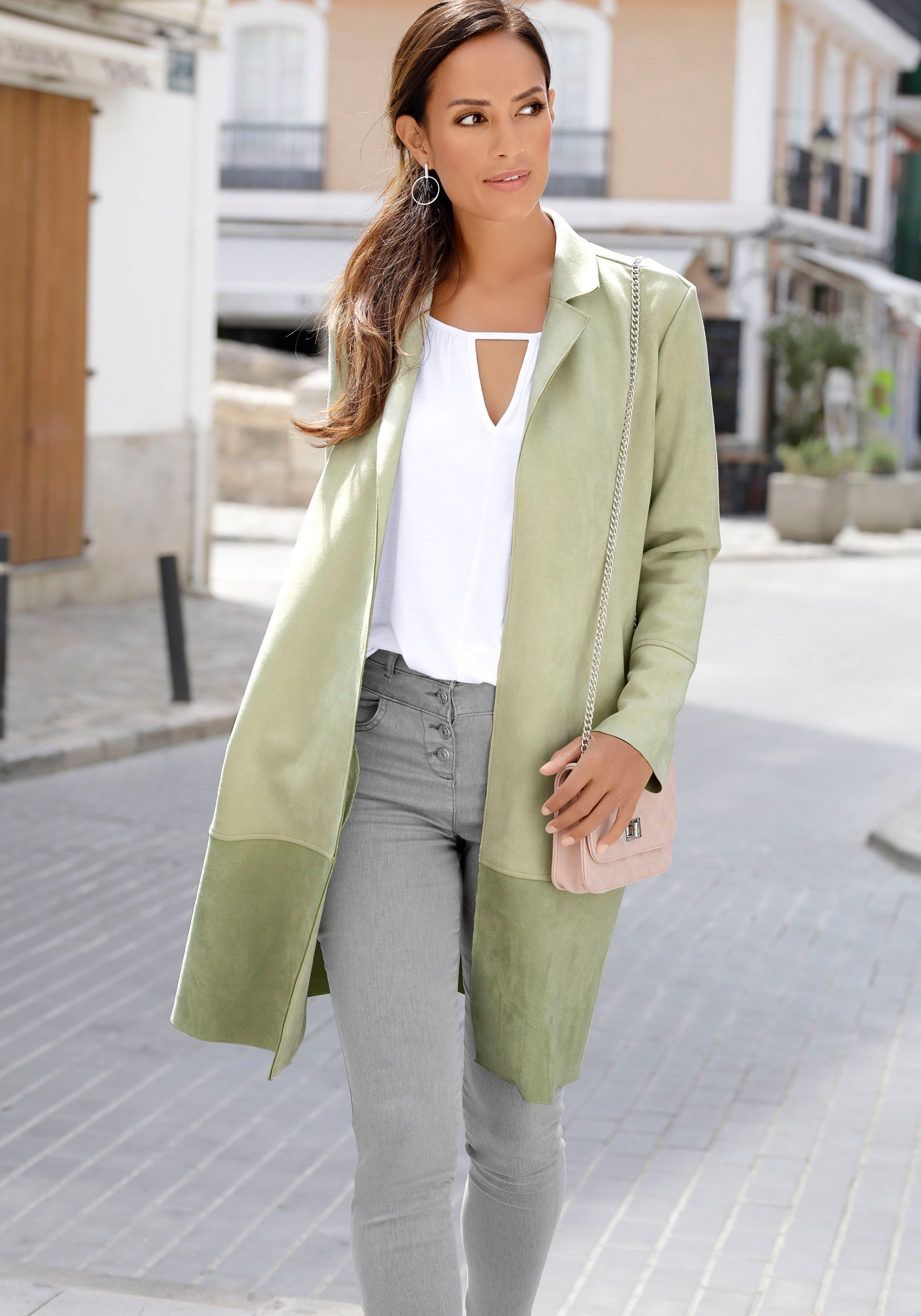 Op zoek naar een Lascana jas van imitatieleer? Koop online bij Lascana