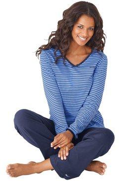 h.i.s pyjama blauw