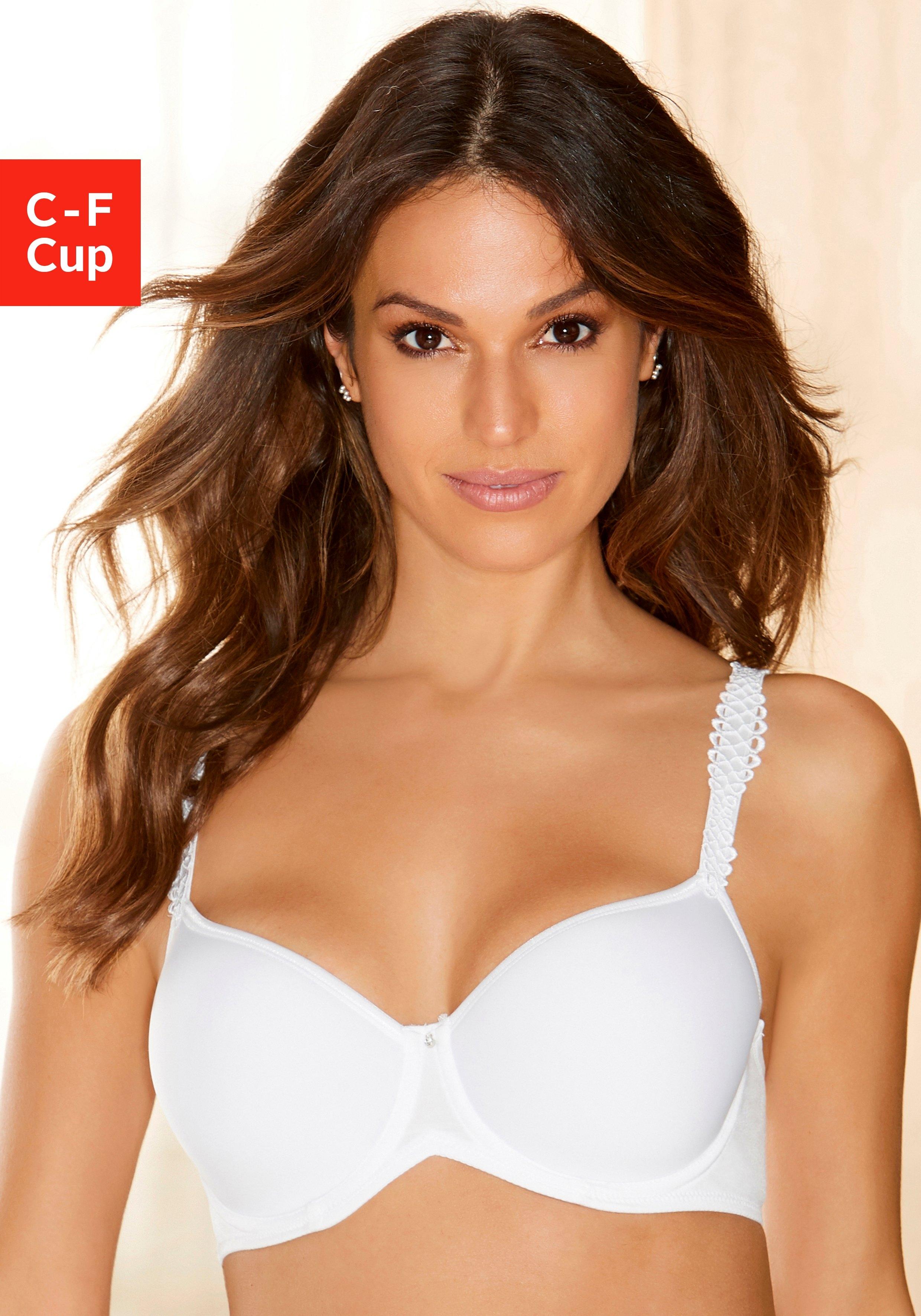 Viania bh met steuncups Sally met spacer-cups bij Lascana online kopen