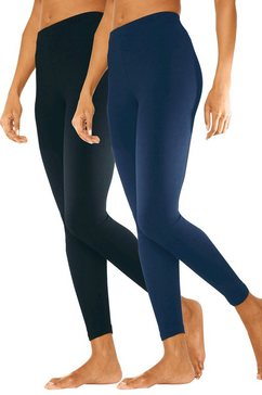 basic legging in set van 2, vivance blauw