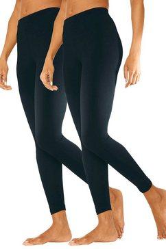 basic legging in set van 2, vivance zwart