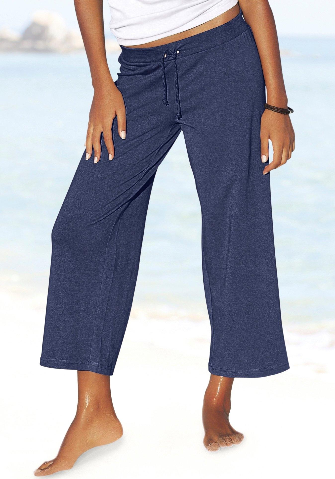 Beachtime 7/8-strandbroek van zachte jersey in de webshop van Lascana kopen