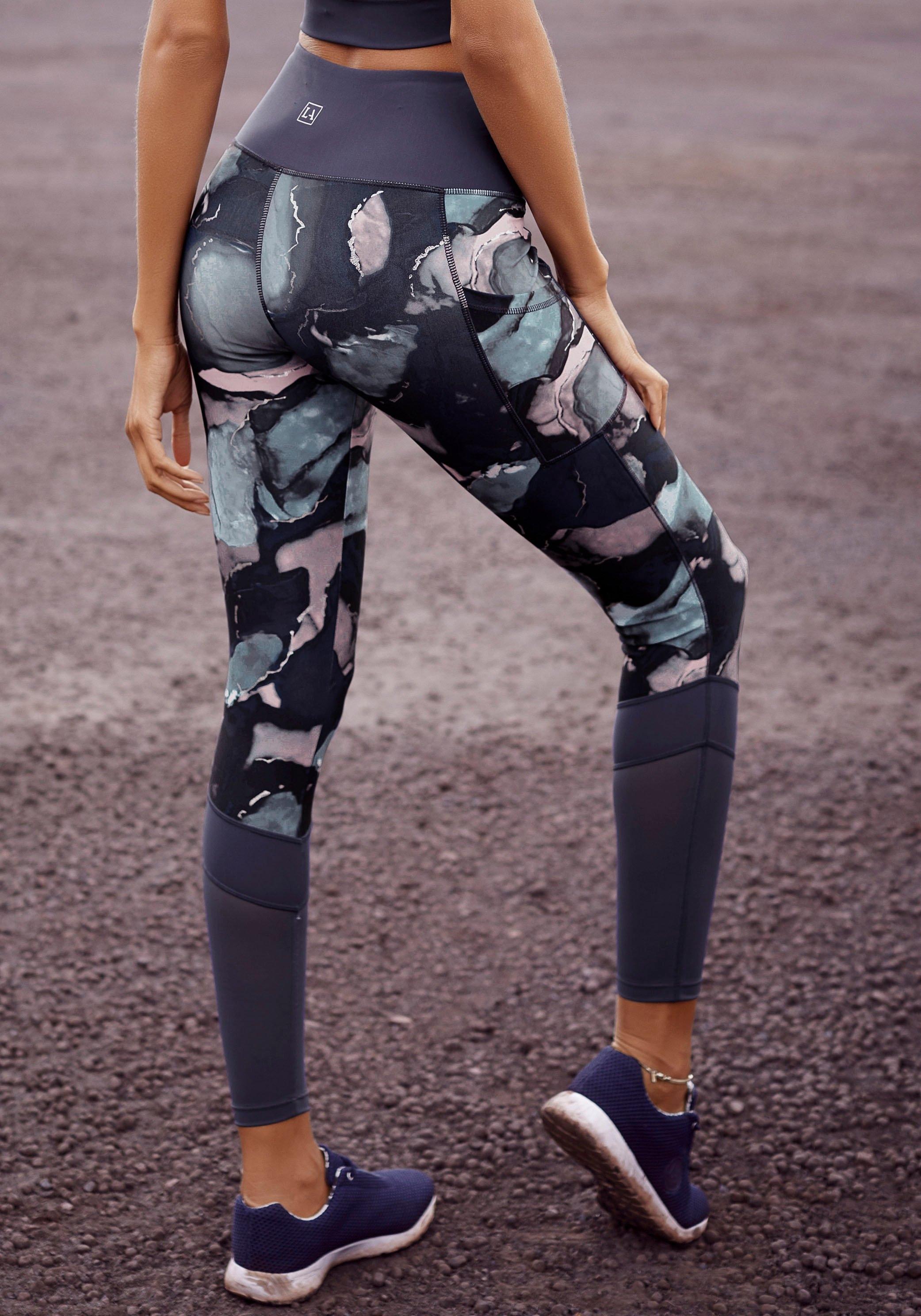 active by Lascana legging met elastische band in v-model bij Lascana online kopen