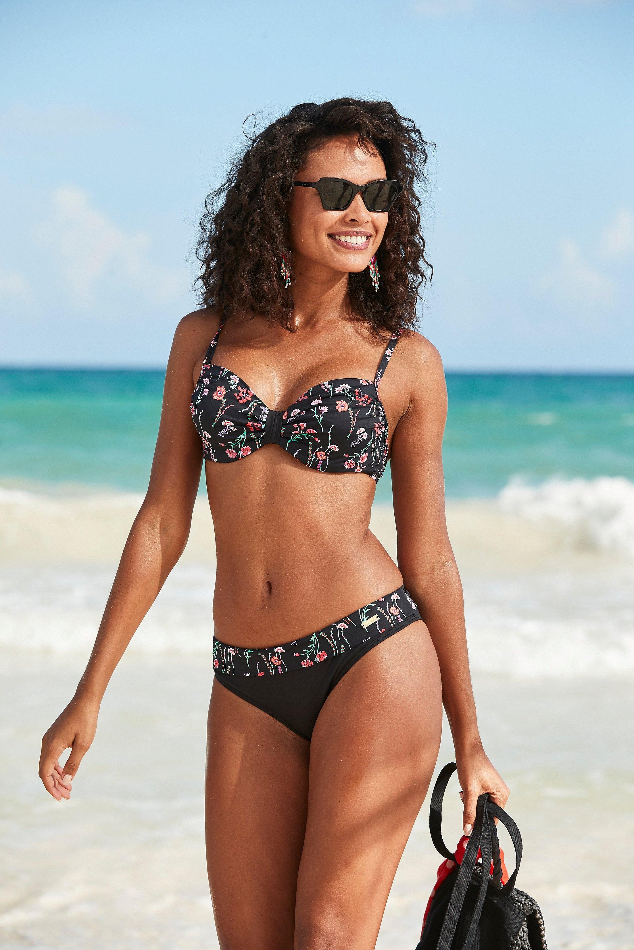 Lascana bikinibroekje »Bloom« voordelig en veilig online kopen