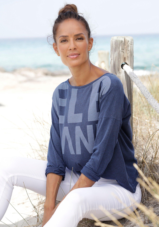 Elbsand shirt met lange mouwen »Niola« in de webshop van Lascana kopen