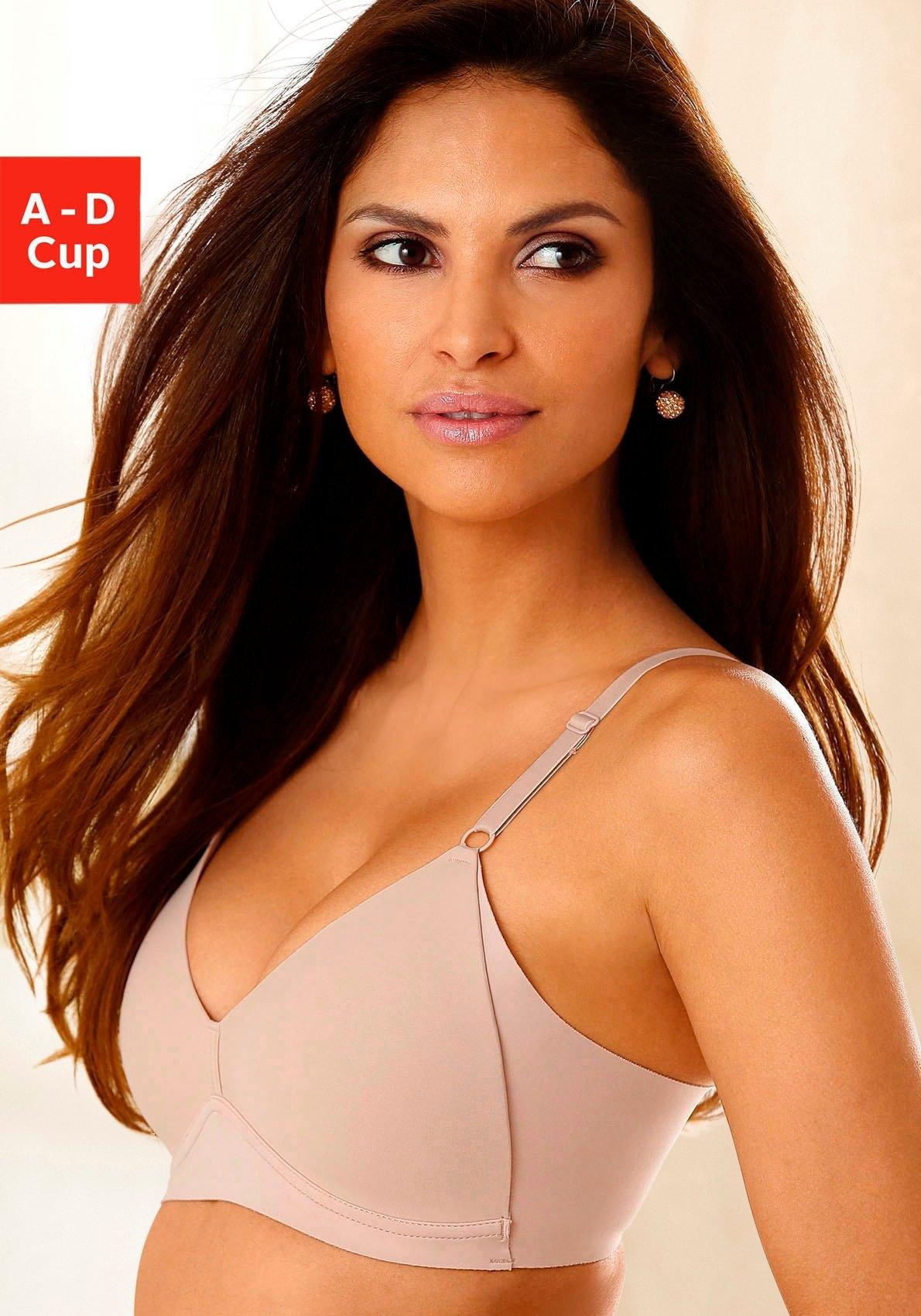 Naturana bh met steuncups Side smoother zonder beugels, met hoge, modellerende zijstukken bij Lascana online kopen