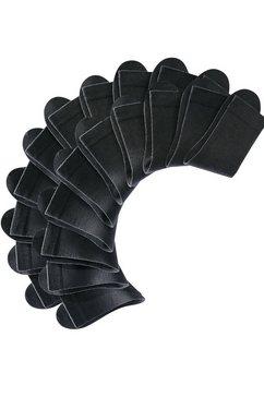 damessokken, set van 20 paar zwart