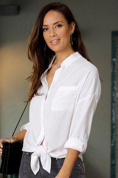 lascana lange blouse wit