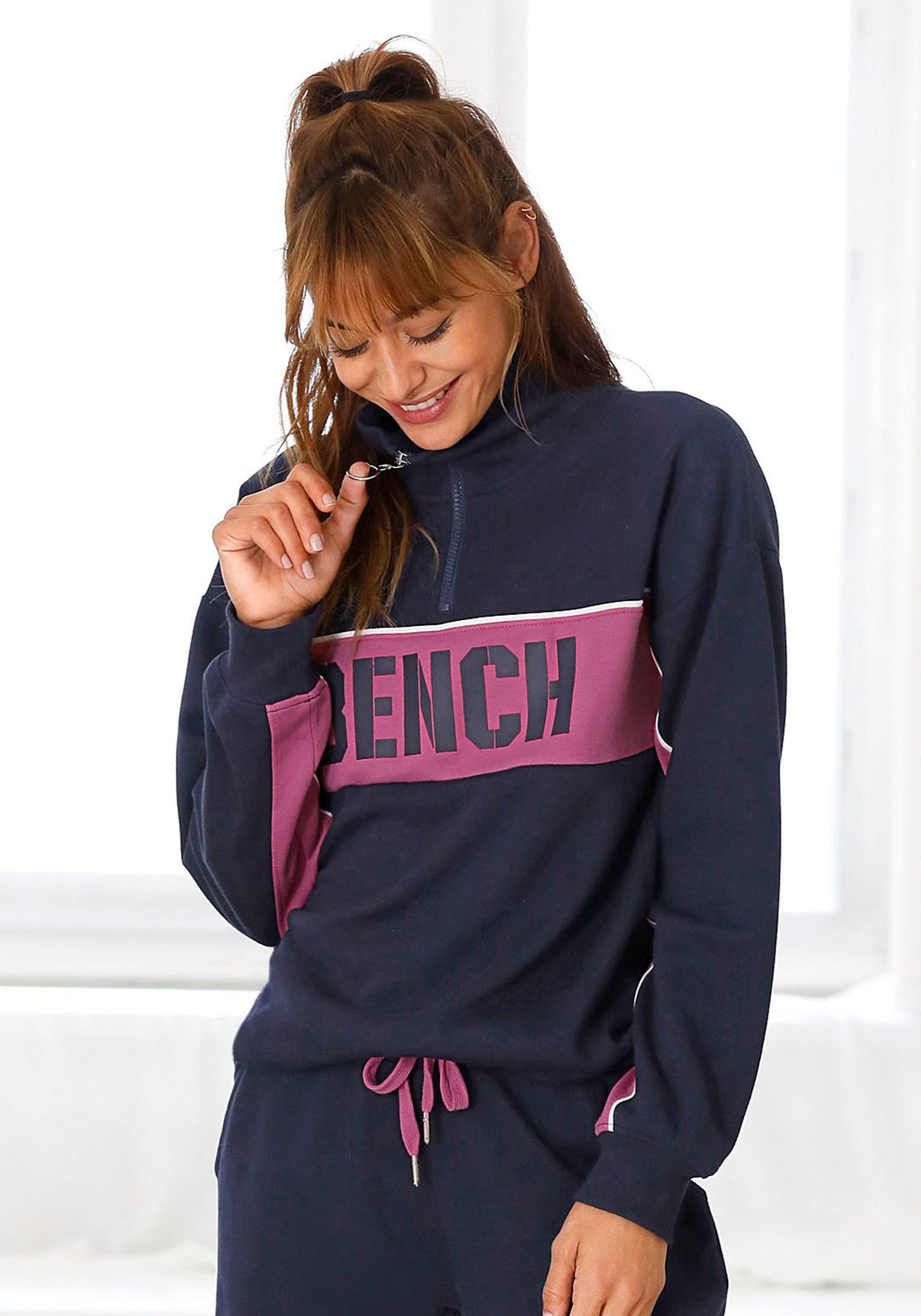 Bench. sweatshirt »Contrast« nu online bestellen
