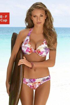 venice beach beugelbikini in hawaï-design wit