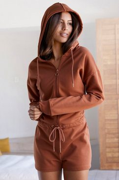 buffalo jumpsuit »buffalo short sweat overall« bruin