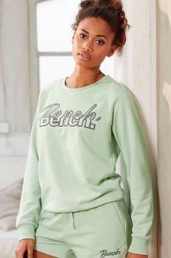 bench. sweatshirt met geborduurd logo blauw