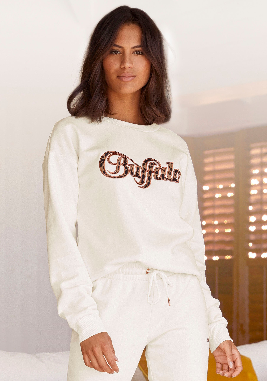 Buffalo sweatshirt »Buffalo Sweatshirt« - gratis ruilen op lascana.nl