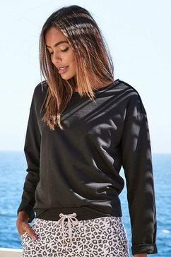 lascana sweatshirt zwart