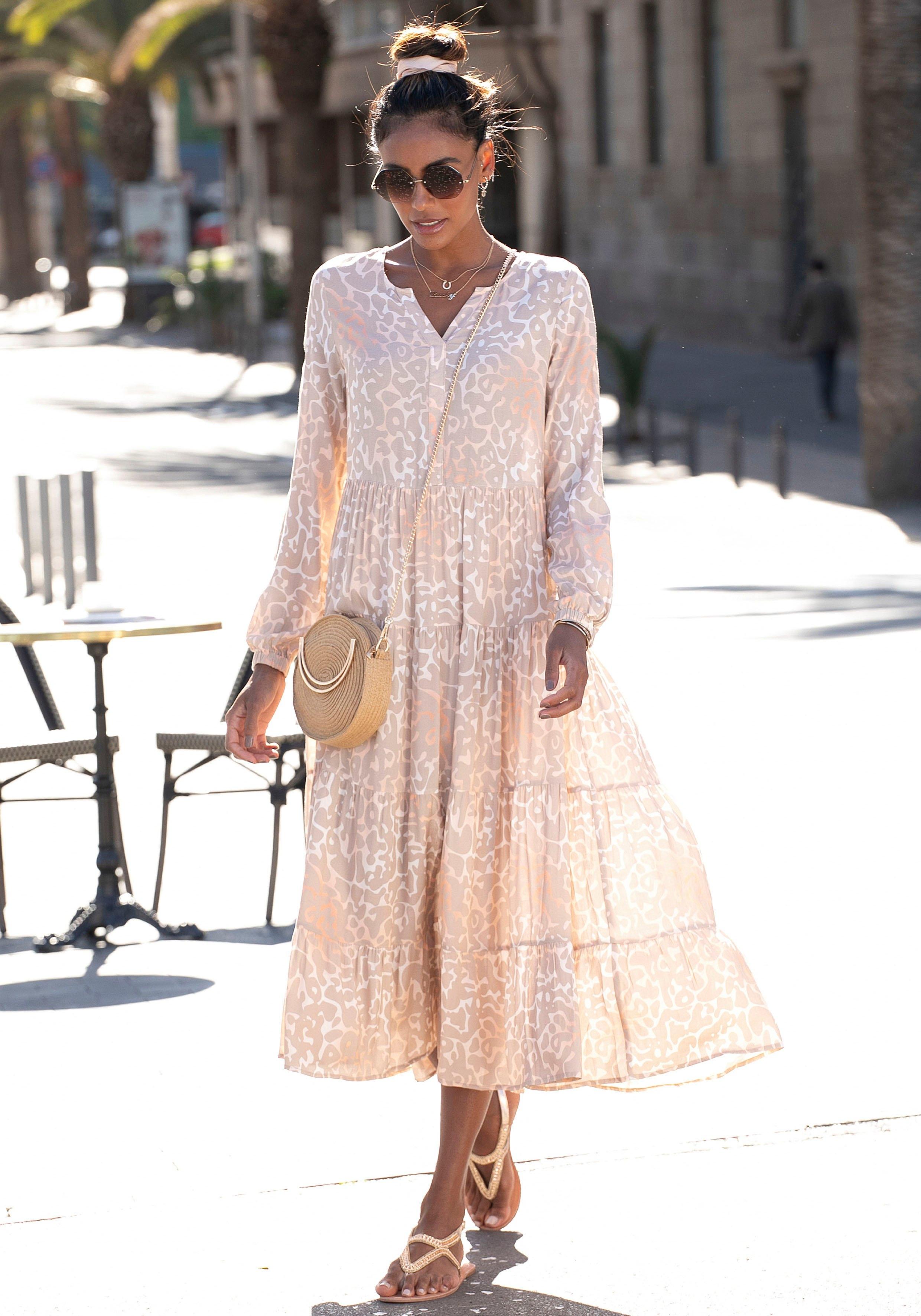 Buffalo maxi-jurk met luipaardprint voordelig en veilig online kopen