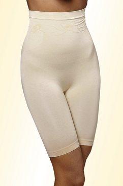 lascana bodyforming-broekje met hoge taille beige