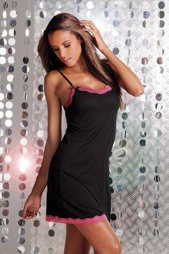 melrose nachthemd met kant zwart