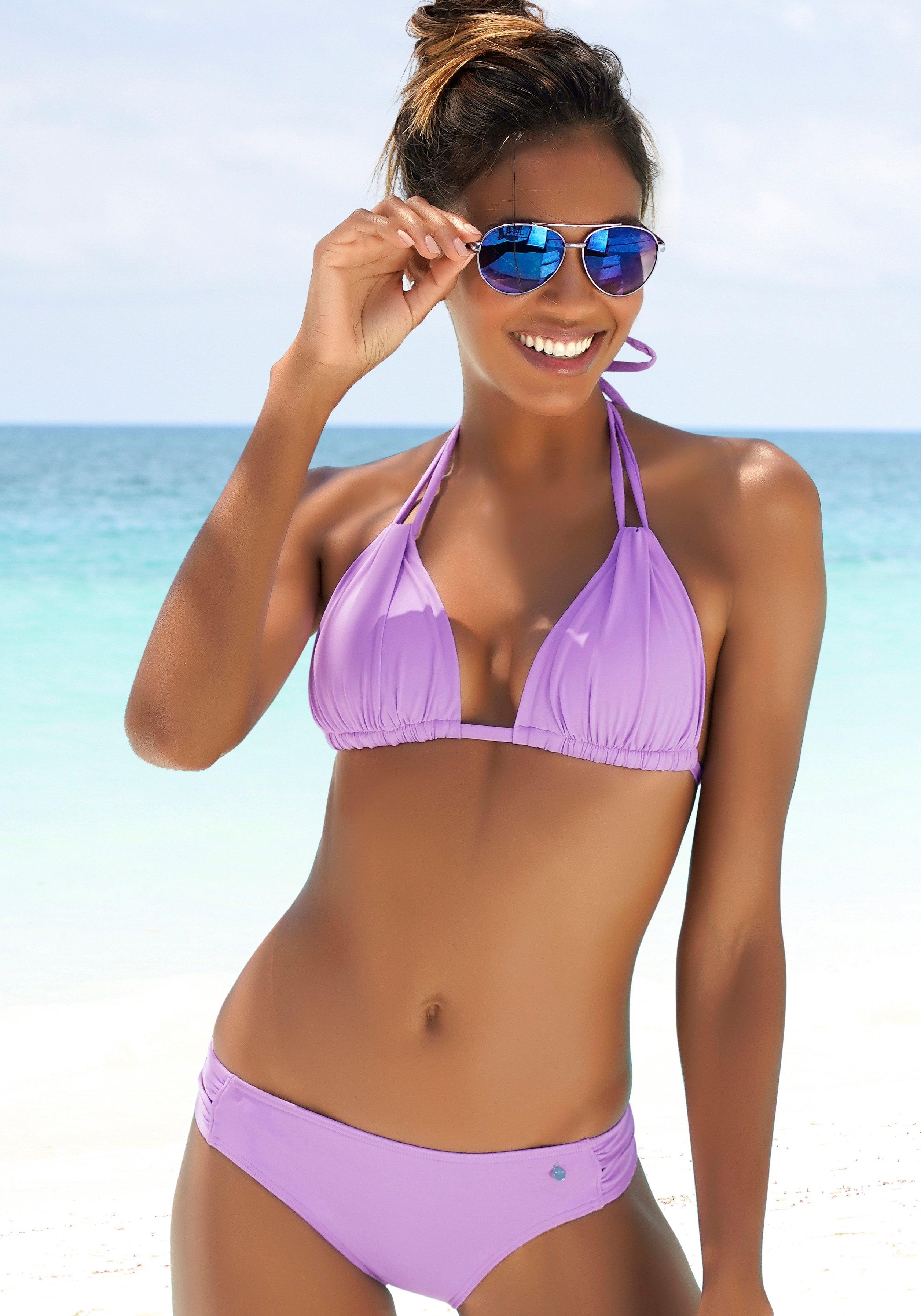 s.Oliver RED LABEL Beachwear triangeltop »Spain« nu online kopen bij Lascana