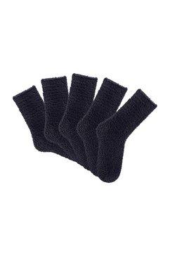 lavana wellness-sokken ideaal als alternatief voor pantoffels (5 paar) zwart