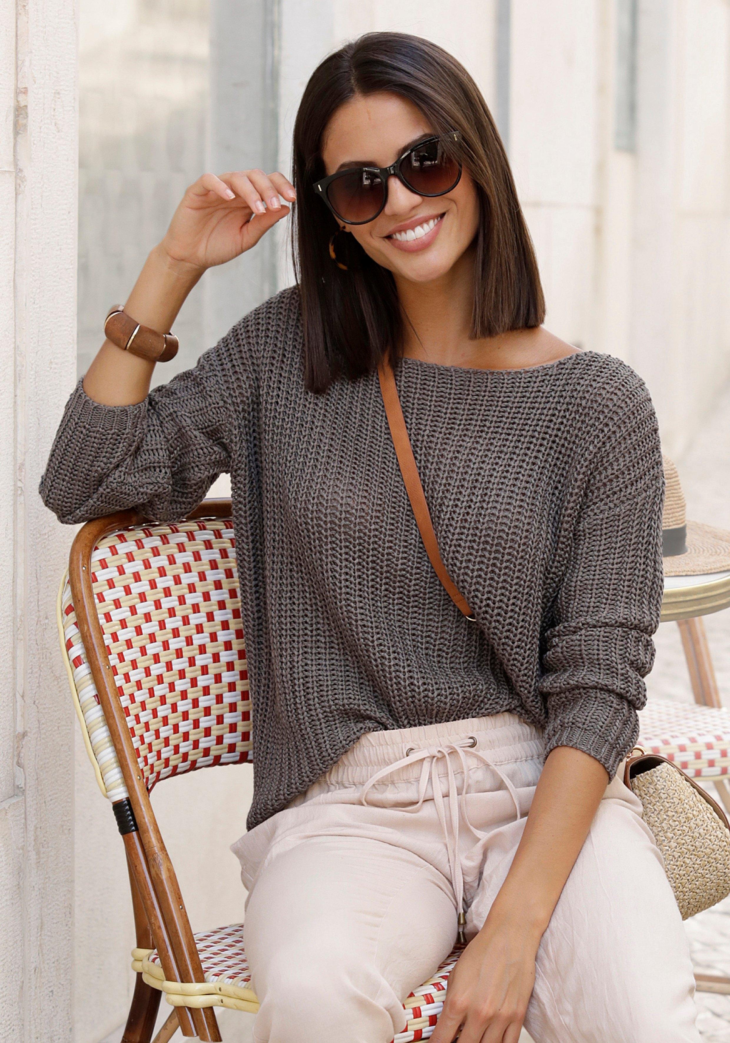 LASCANA trui met ronde hals nu online bestellen