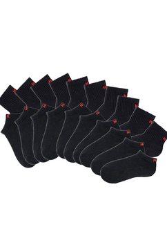 sport-kousenvoetjes + korte sokken, 20 paar