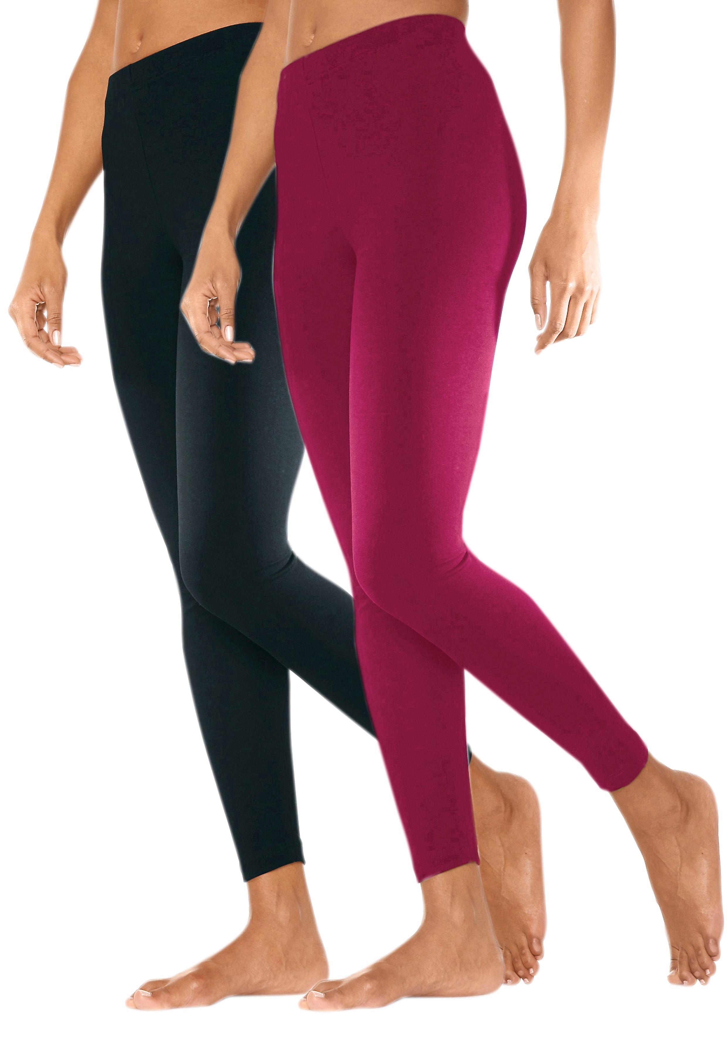 Vivance Basic legging in set van 2 voordelig en veilig online kopen