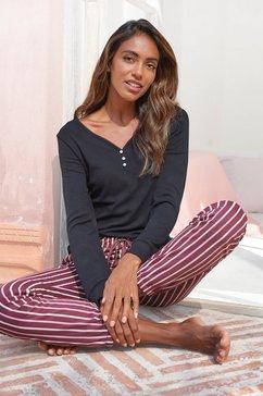 lascana pyjama paars