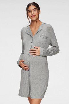 lascana positienachthemd grijs