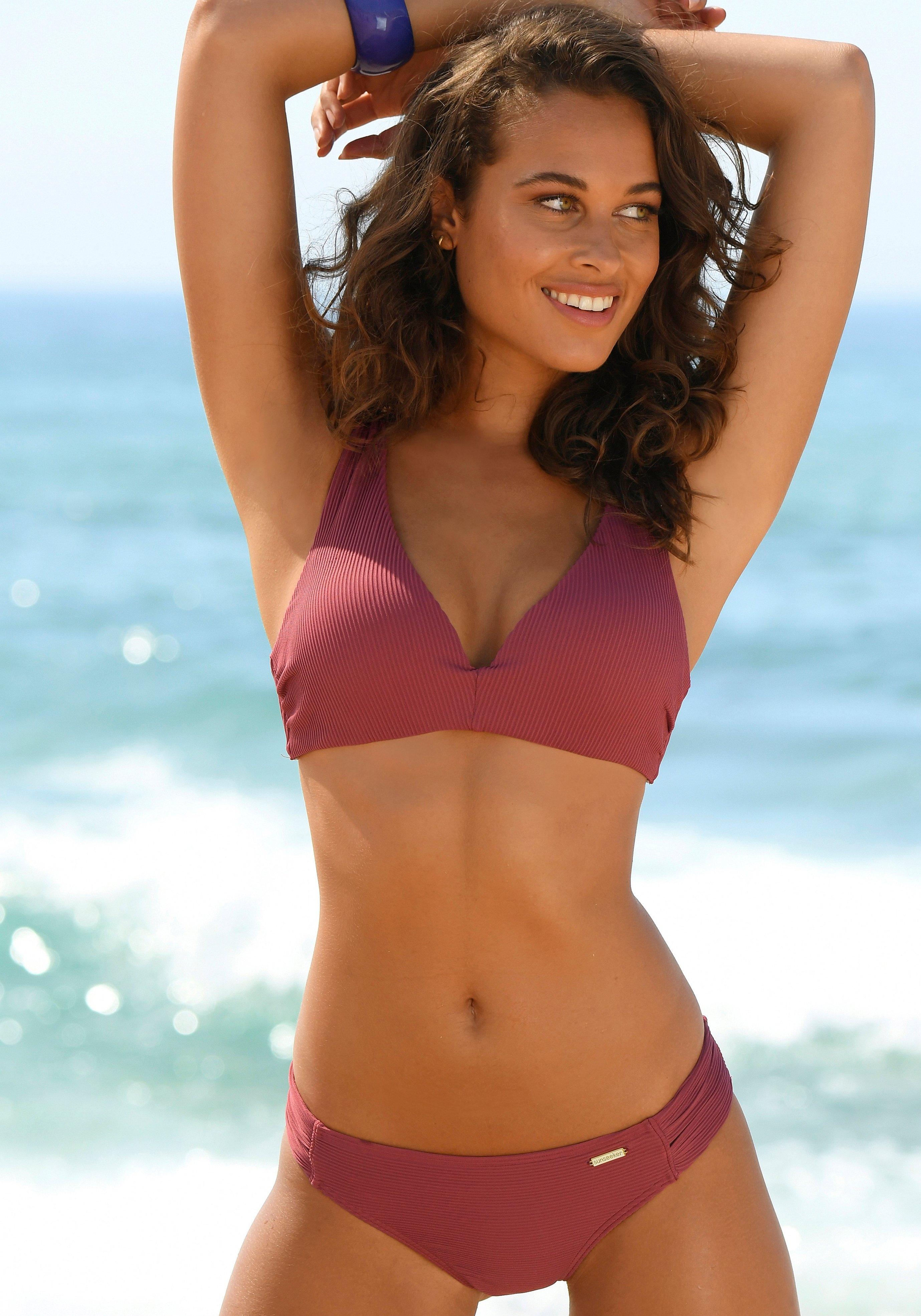 Sunseeker triangel-bikinitop Fancy met push-up effect bestellen: 30 dagen bedenktijd